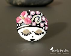 Reserved listing for S. l Handmade lampwork bead by calypsosbeads