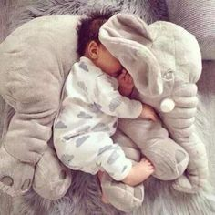So Cute Baby, Cute Kids, Cute Babies, The Babys, Baby Toys, Kids Toys, Toddler Toys, Elephant Pillow, Elephant Baby