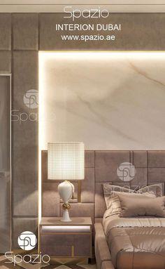 Luxury bedroom Decor - Bedroom interior design in Dubai Interior Design Dubai, Interior Design Career, Door Design Interior, Luxury Homes Interior, Luxury Home Decor, Interior Design Living Room, Interior Architecture, Master Bedroom Interior, Bedroom Bed Design
