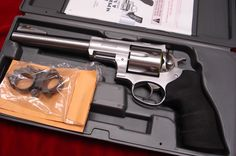 """RUGER SUPER REDHAWK HUNTER 7.5"""" STAINLESS 44MAG. WITH RINGS NEW IN THE BOX (KSRH-7)"""