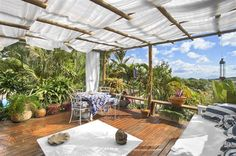 Stunning outdoor patio at Aquabarra Boutique Hotel & Spa - Buzios, Brazil