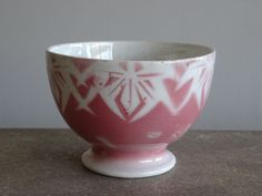 HBCM 画像1: カフェオレボウル  ピンクのぼかし 口径10cm