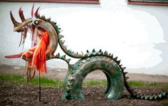 Recycled Tires, Tyres Recycle, Old Tires, Upcycle, Tired Animals, Tire Craft, Tire Garden, Tire Planters, Diy Crafts To Sell