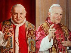 Giovanni XXIII e Giovanni Paolo II santi