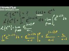 Se explica algunos ejemplos aplicando la definición de la transformada de Laplace según el punto de vista de otro autor. Del sitio de TareasPlus.