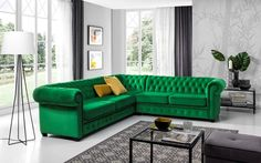 Chesterfield, Couch, Furniture, Home Decor, Settee, Sofa, Couches, Interior Design, Sofas