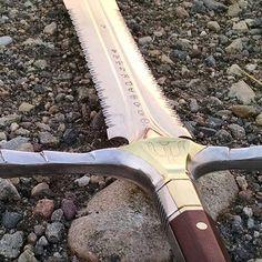 The Ravenstag is almost complete. Next, Kydex sheath. #bladeforums #blacksmith…