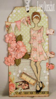 Prima Doll stamp tag...nice one.
