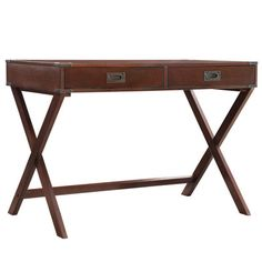 Found it at Wayfair - Neptune Campaign 2 Drawer Writing Desk