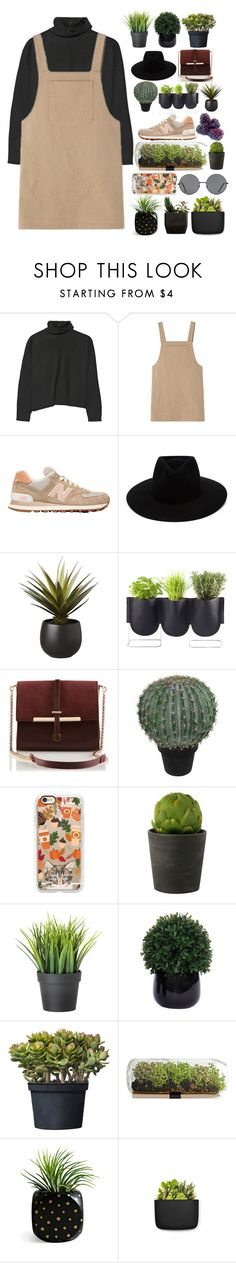 """""""war zone"""" by soravolley ❤ liked on Polyvore featuring Marni, New Balance, rag & bone, CB2, Authentics, Abigail Ahern, Casetify, Lux-Art Silks, Normann Copenhagen and Forever 21"""