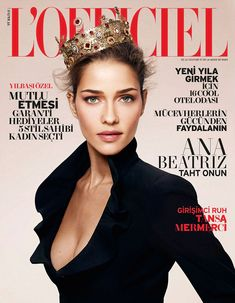 ana beatriz barros shoot1 Ana Beatriz Barros Gets Regal in LOfficiel Turkey Shoot by Emre Dogru