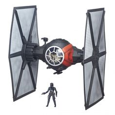 Star Wars VII First Order Special Forces TIE Fighter Black Series 6-inch 65 cm