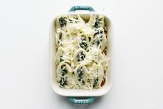 Kale and Ricotta Stuffed Shells Recipe | www.iamafoodblog.com