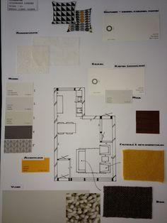 Kleurenplan  opdracht Interieurstyling