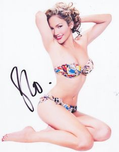 Jennifer Lopez Autographed Signed 8X10 Photo COA