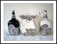 Vasos reciclados de caixas de leite | Tays Rocha