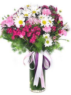 Bahar Çiçekleri Vazosu çiçekhttp://www.cicekvitrini.com/cicekler/istanbul-cicek-siparisi