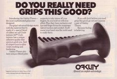 Vintage BMX Ads: DO YOU REALLY NEED GRIPS THIS GOOD?
