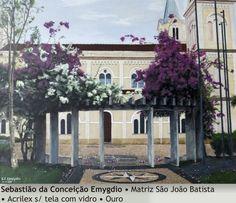 Matriz S. João Batista - Sebastião Emygdio - 2013. Imagem do acervo do APHRC