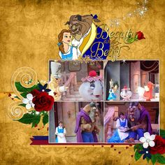 Beauty and the Beast Show - Page 7 - MouseScrappers.com
