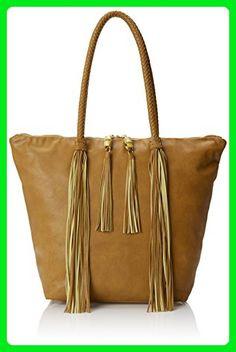 BIG BUDDHA Pompei Shoulder Bag, Tan, One Size - Shoulder bags (*Amazon Partner-Link)