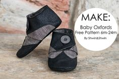 Baby Oxfords || Free Pattern || 6m-24M