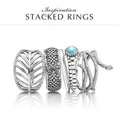 Let your summer style sizzle with breezy blue and exotic designs. Which one is your favorite? #PANDORA #PANDORAring
