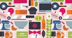 General Market | Pattern Download | The Design Inspiration
