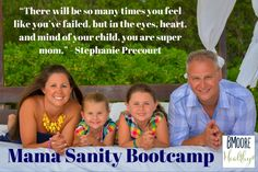Mama Sanity Bootcamp Free Online Program