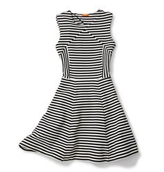 If your office is too formal to pair a Breton tee with a skirt, never fear — stripes can still work! Joe Fresh proves it with a flirty sleeveless style ($39).