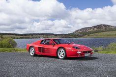 1996 Ferrari Testarossa 512M Coupé  estimate £180,000 - 220,000