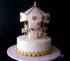 carousel cake looks hard but I think I can do it :)