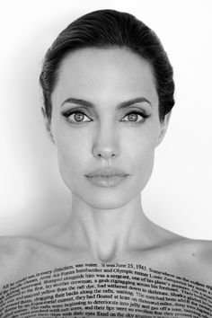 Angelina Jolie for Vanity Fair, December 2014 Photographed by: Mario Testino