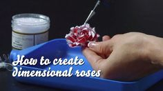 How to Create Dimensional Roses w/ Classic Rose Collection from Heartfelt Creations. #tutorial