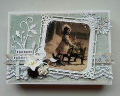 Sjokoladeeske jul Diy And Crafts, Scrap, Boxes, Frame, Christmas, Home Decor, Picture Frame, Yule, Tat