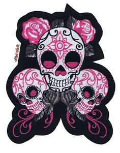 """Sugar skull 