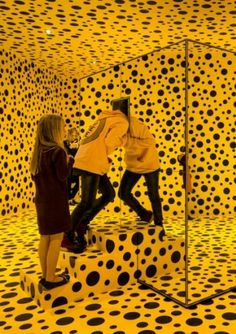 Installation shot from the exhibition 'Yayoi Kusama. In Infinity', 17.9.2015…