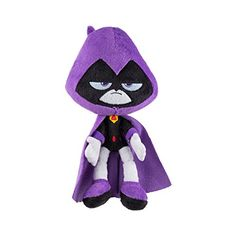 Teen Titans Go! Jazwares 7 Inch Plush Raven Featuring the character from the hit animated series, Teen Titans Go! Plush figure measures approx 7 inches tall Made from high quality washable materials Collect them all Teen Titans Toys, Raven Teen Titans Go, Lol Dolls, Child Doll, Toy Store, Just In Case, Disney, Plush, Cartoon