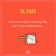 😅 If only your flatmate was a chef 🍝