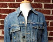 VTG Guess Denim Jacket // Mens Sz S // Georges Marciano for Guess // Jean Jacket