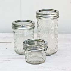 Quilted Mason Jars  $4.50 - $6.50