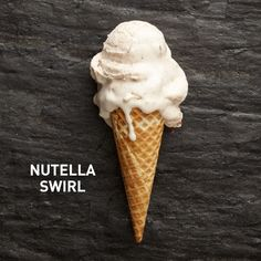 No-Churn Ice Cream - Add 1 cup Nutella to the base recipe.