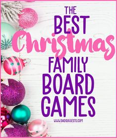 Discover the best Christmas-themed family board games and card games. If you're looking for something that will bring a little Christmas spirit to family game night, check out our picks for the best holiday games for kids of all ages. #christmasgames #familygamenight #christmas #kidsgames #boardgames #kidsboardgames #familychristmas #dadsuggests Toddler Board Games, Board Games For Kids, Family Board Games, Christmas Board Games, Holiday Games, Holiday Fun, A Christmas Story, Family Christmas, Homemade Board Games