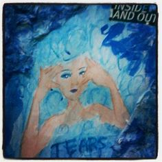 my daughter #mixed #media #art #journal - @utomosetyo- #webstagram