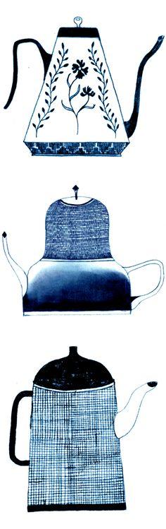 teapots by na kim <3
