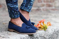 Church's Shoes + Paisley Pants in Taormina Summer 2012    source: www.thethreef.com    #style #menswear #boy
