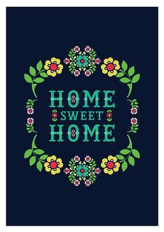 home sweet home by One Little Bird Studio