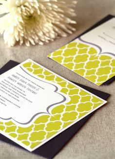 I love the design of this invitation!