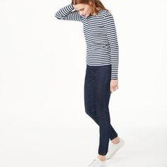 Striped Rib T-shirt