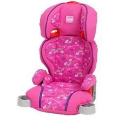 Graco Highback Booster- Girls Rock, (booster seat, booster carseat, car seat, toddler car seat, toddler seat)